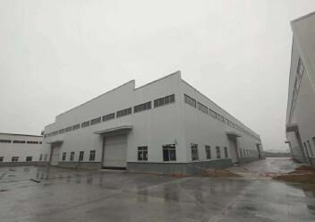 江门市冲蒌镇全新单一层钢构厂出租,可按需分租,有宿舍办公楼图片6