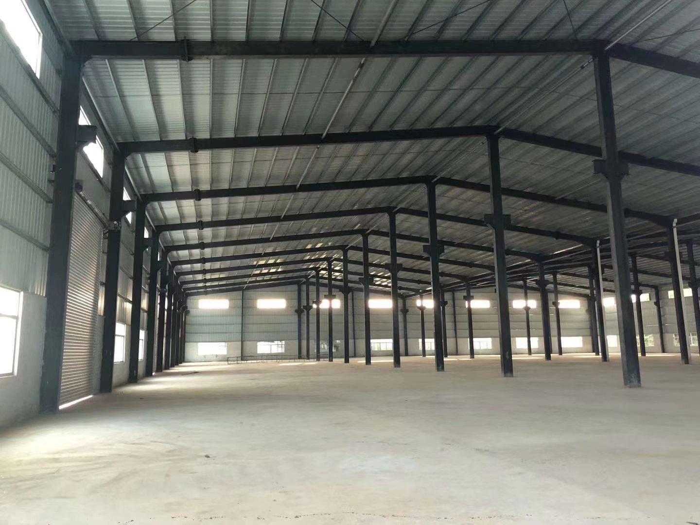 罗阳镇砖墙到顶单一层钢构独栋厂房, 厂房6800平方