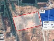 惠州石湾占地20000㎡国有证二类红本工业地皮售0.5亿