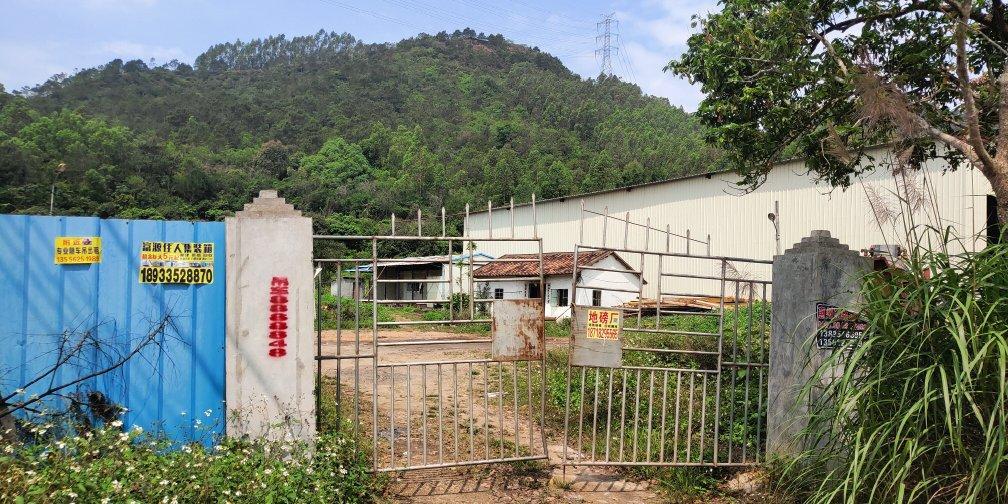 惠东县大岭镇靠山边独门独院厂房出租1000平方空地大行业不限