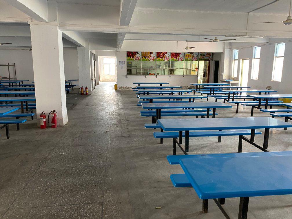 惠阳镇隆标准工业园内食堂小店700平米招租带装修