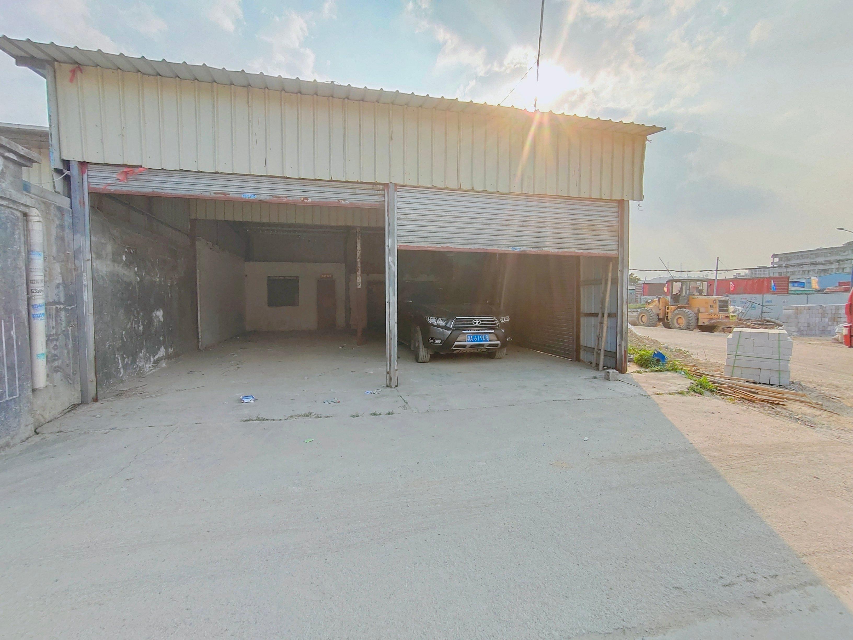 黄埔南岗玩具城附近新出小面积单一层厂房仓库110平方出租。
