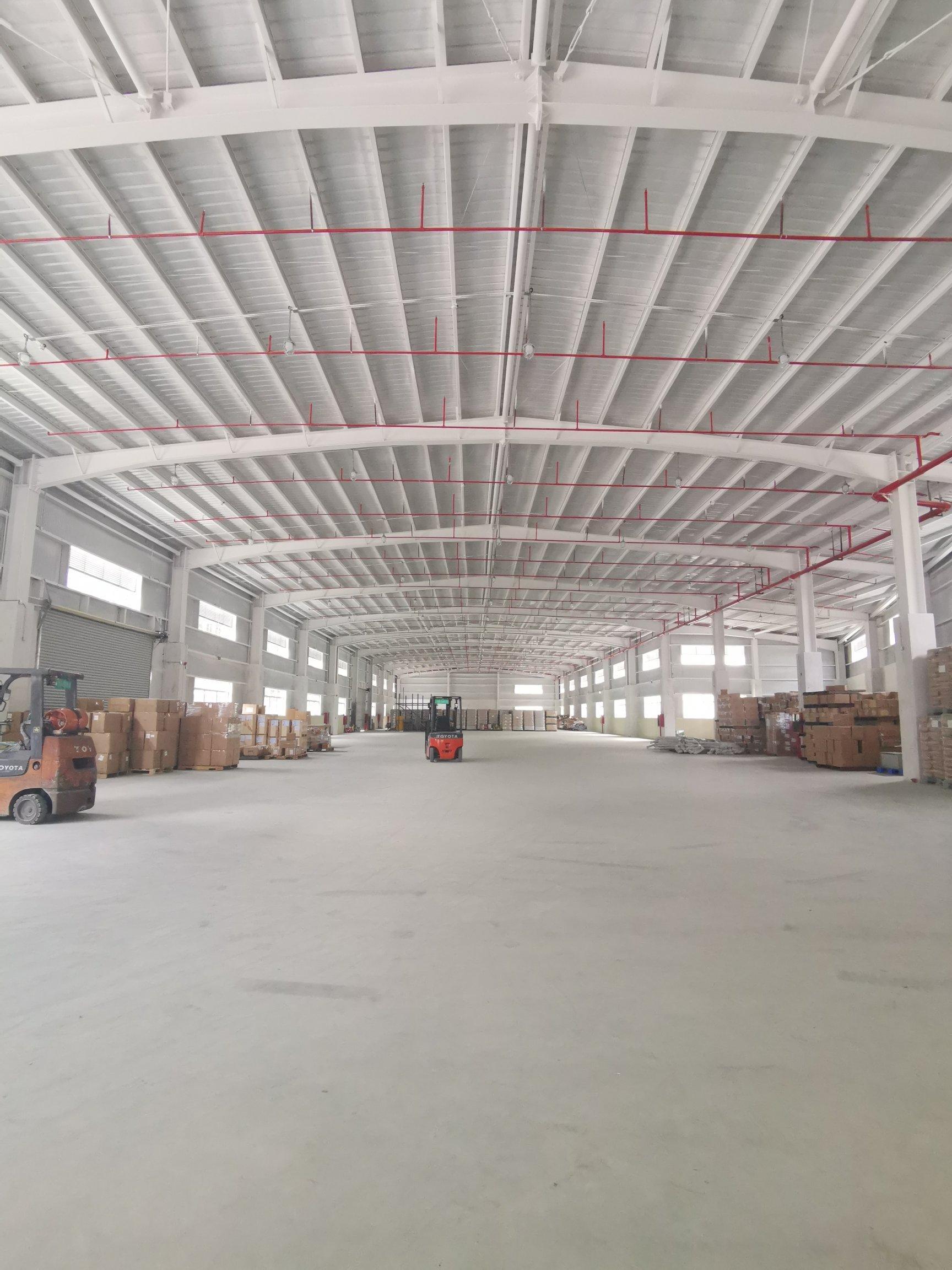 龙岗区新出单一层1500平层高8米标准物流仓库出租