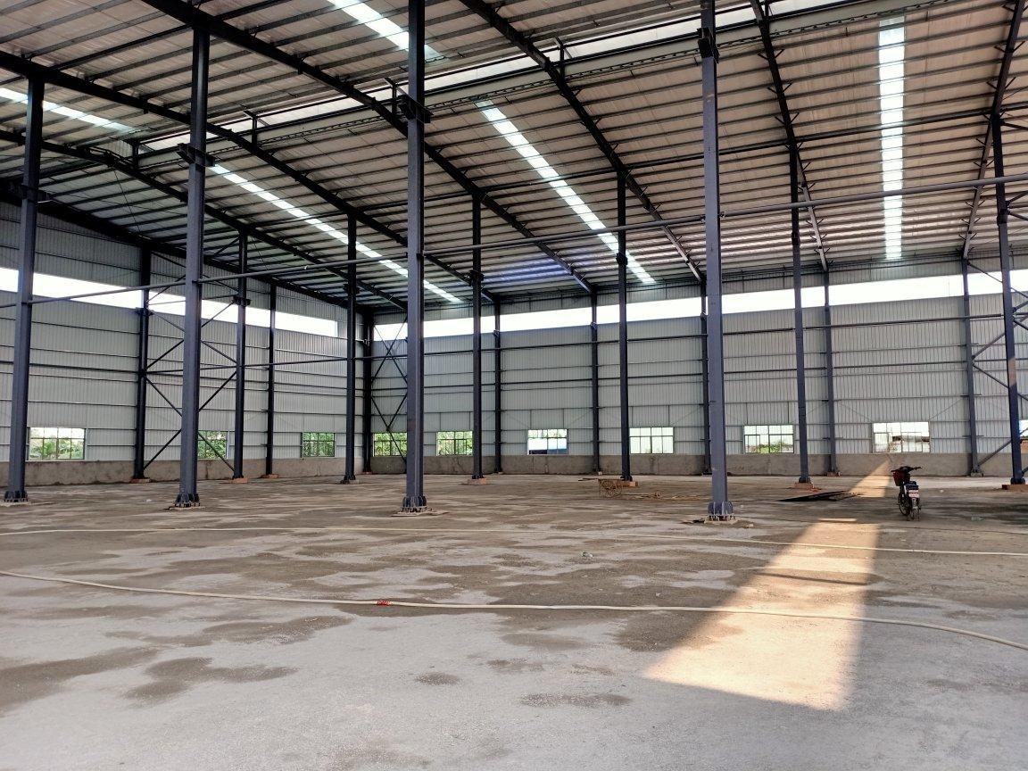 麻涌原房东新建单一层钢构万博app官方下载3300平有蒸汽可办环评高速口