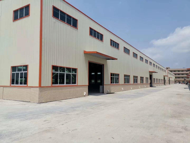 肇庆市金利镇全新钢构50000平方有房产证可大小分租