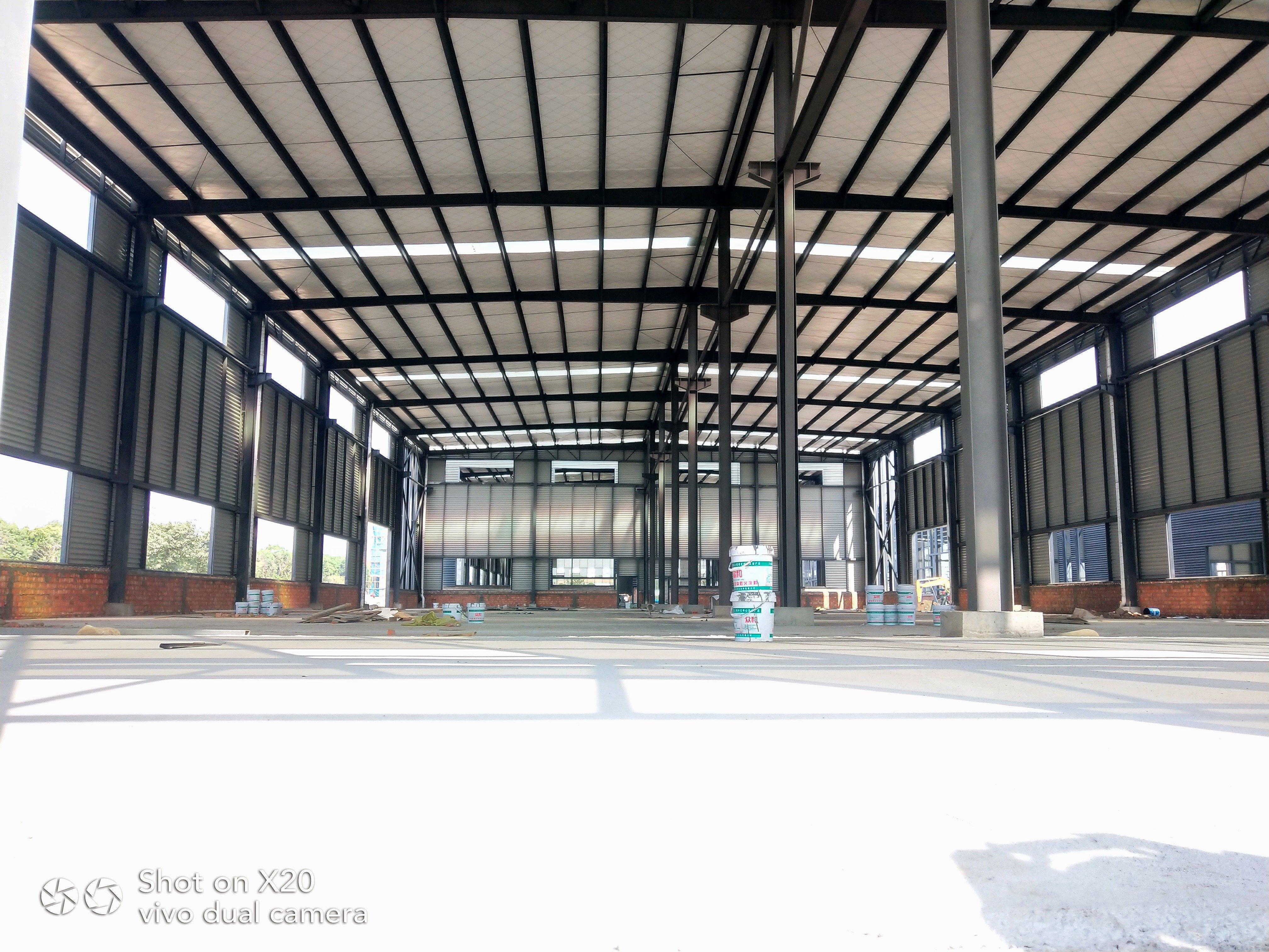 单层钢构,独门独院,5吨行车,50年产权,电量按需分配