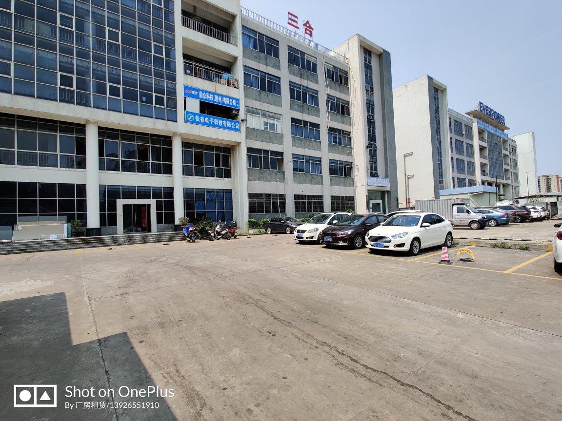 仲恺高新区主干道边小独院内一楼现成装修厂房500平招租
