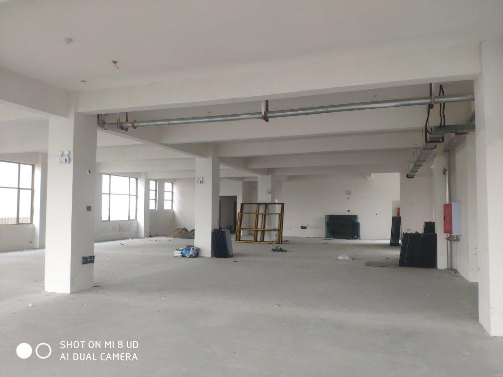 框架结构,6米层刚,单层2800平,可以分租