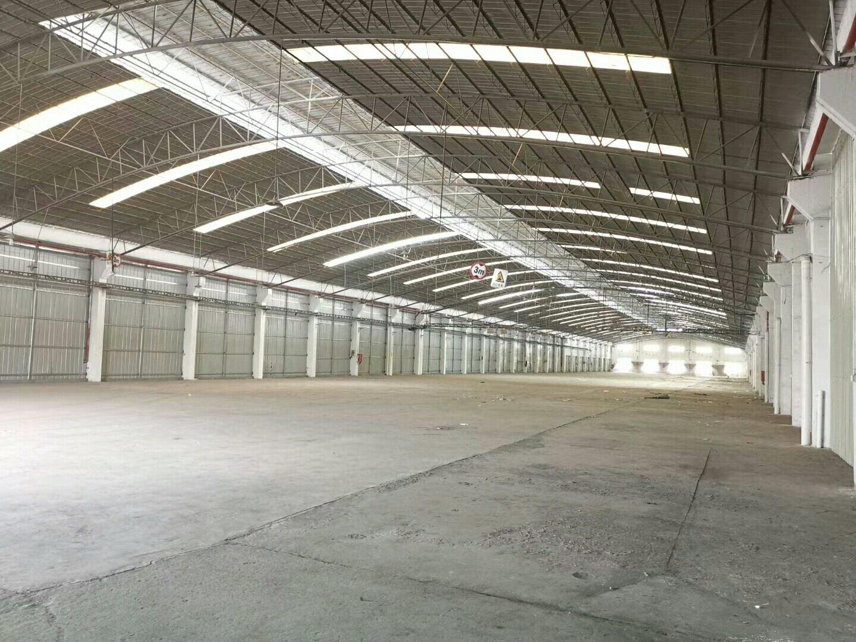 顺德区容桂工业区单一层独院万博app官方下载,长度180米无柱子,消防齐全