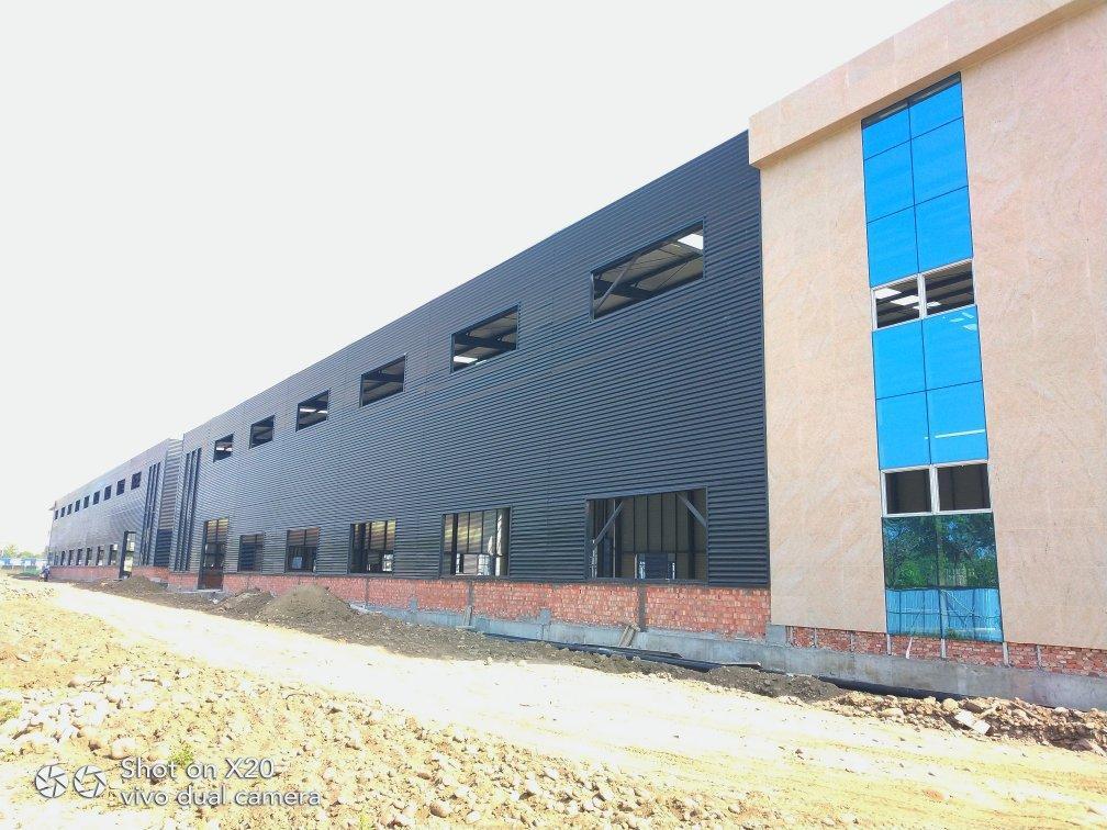 工业园区钢结构单层厂房,50年产权,电量按需分配