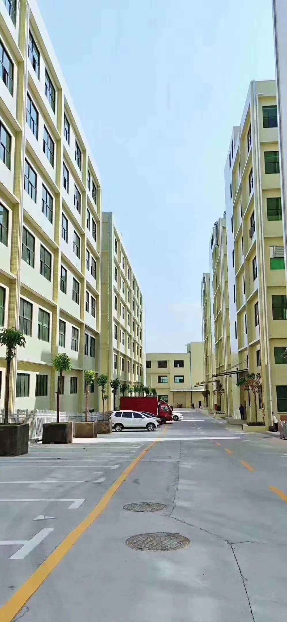 博罗县大型工业园区分租还剩8栋共100000平每栋1/6层