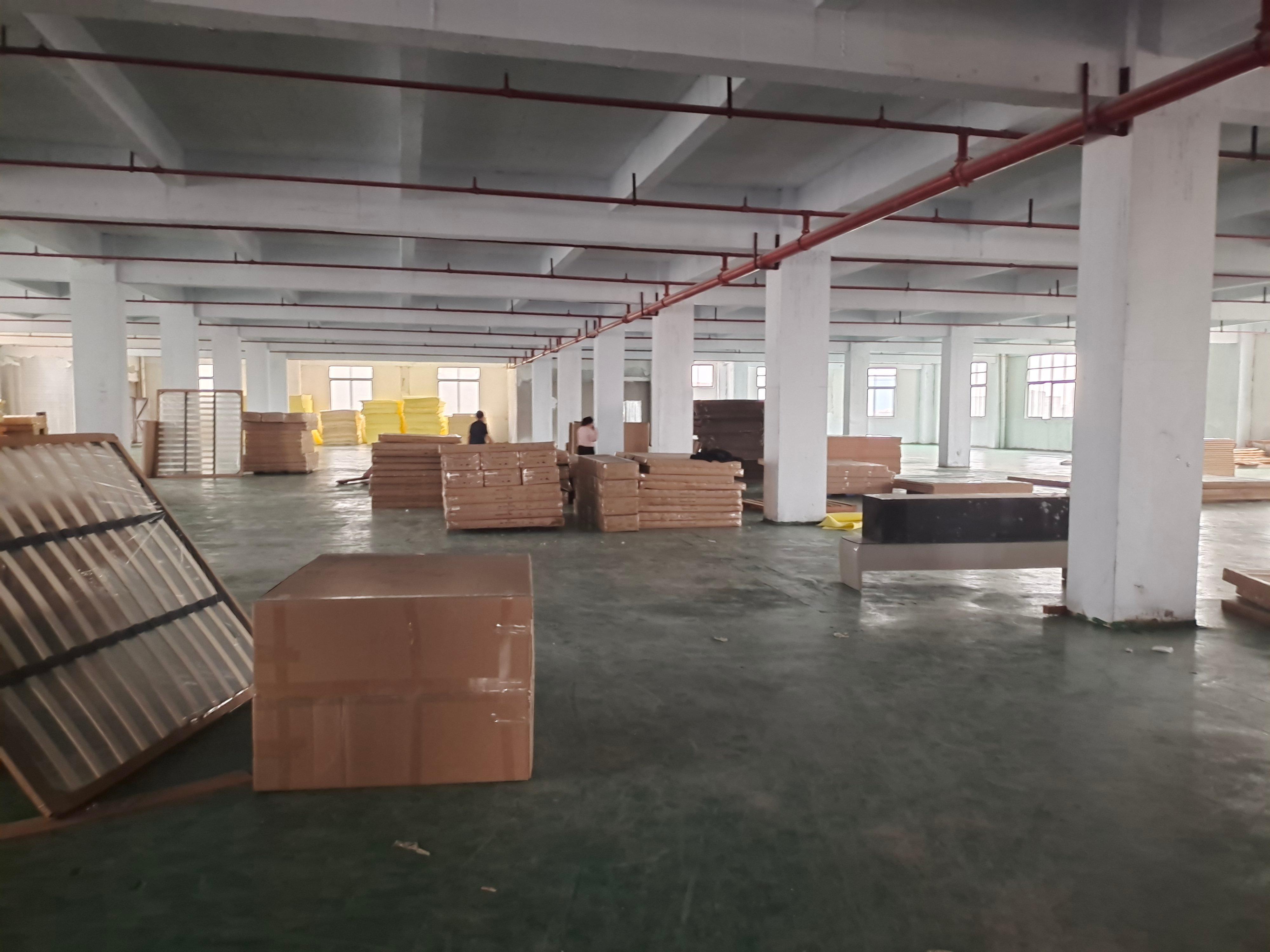 龙江涌口标准万博app官方下载三楼一层过3400方,现成办公室和展厅出租