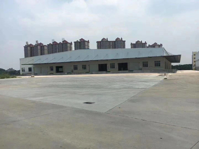 博罗县杨村新出钢构厂房高度10米出租面积8000