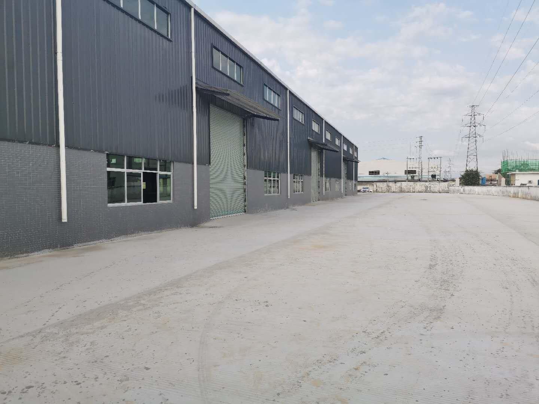 石湾高速出口附近新出独院单一层钢构厂房6000平出租