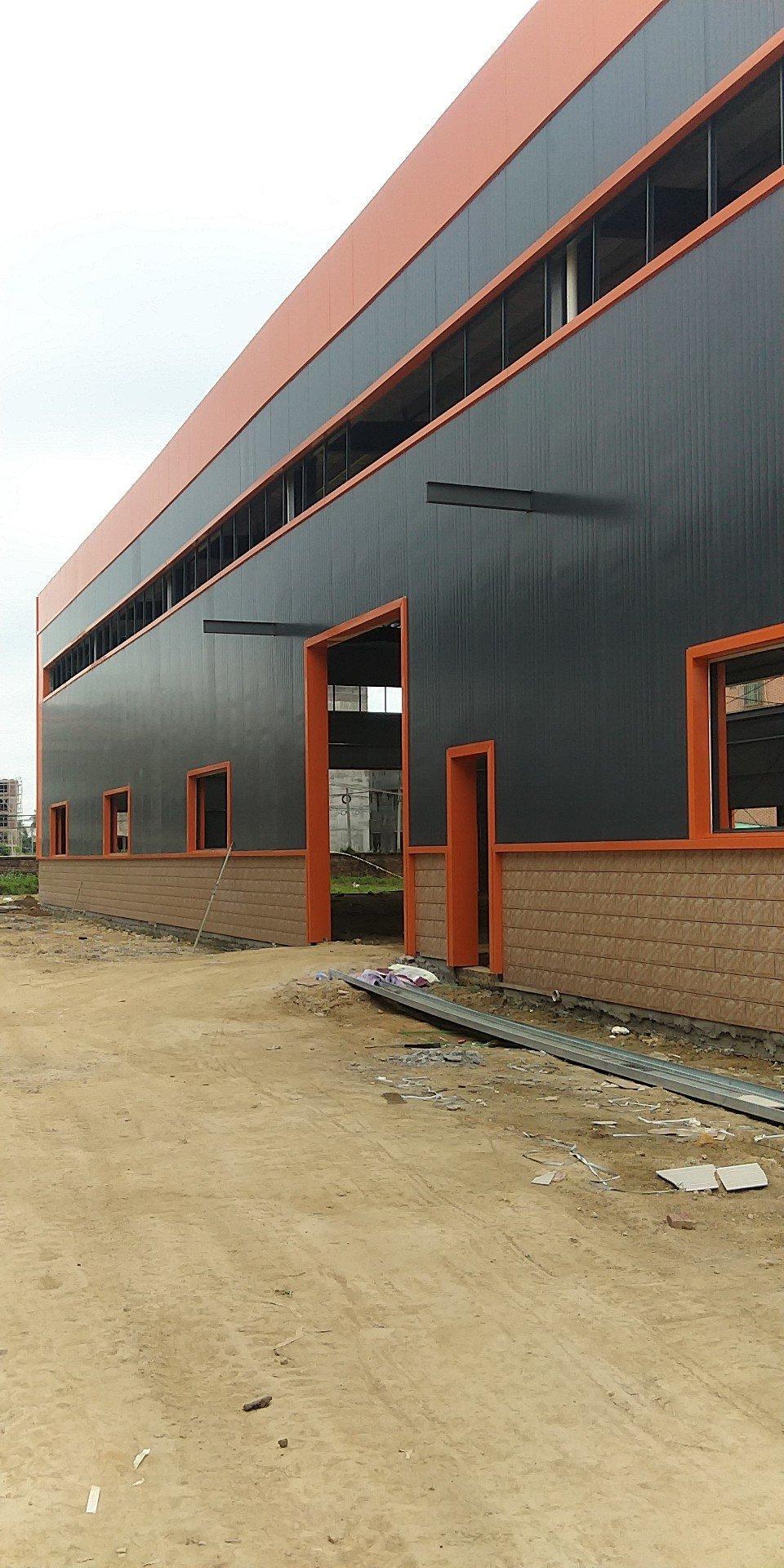 龙溪镇原房东新建独院单一层厂房滴水9.5米带牛角3612方