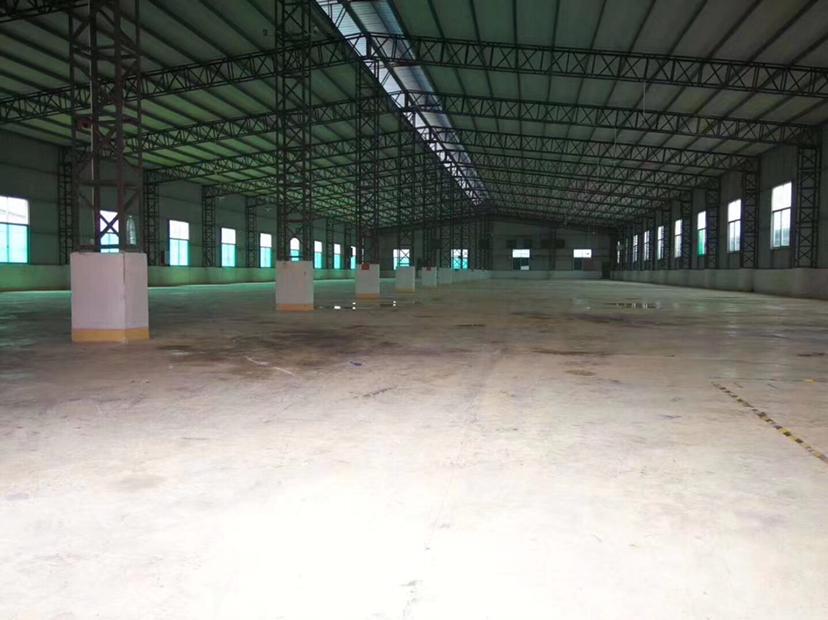 惠州大亚湾原房东独院钢构厂房5000平招租滴水9米空地大