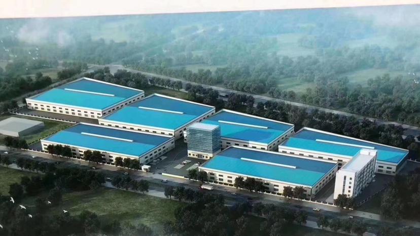 惠州博罗大型重工业园区单一层钢构万博app官方下载5万平方滴水十米