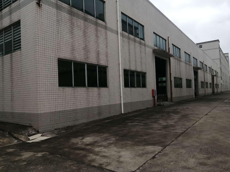 博罗县罗阳镇工业园分租一栋砖墙到顶单一层4980平