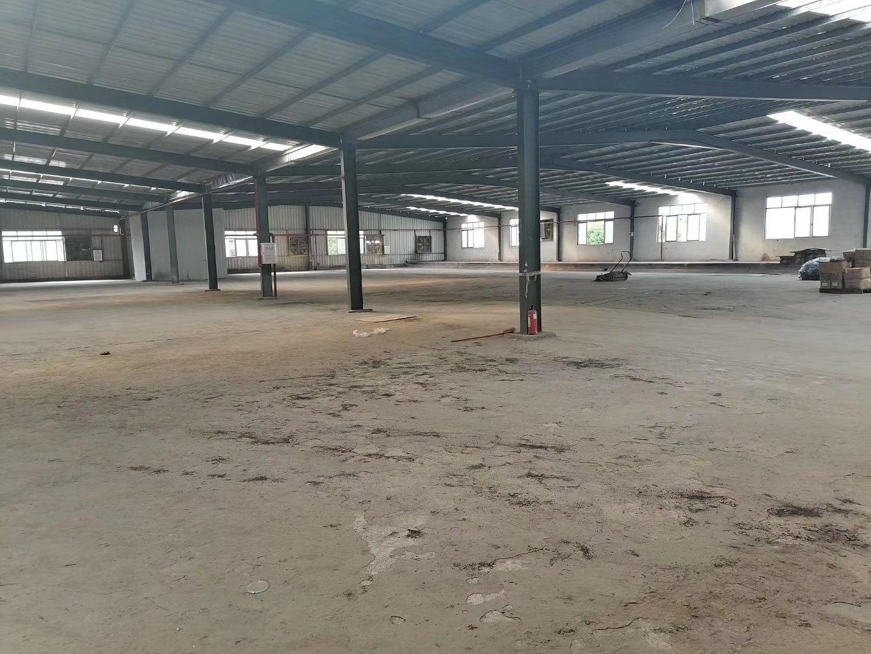 惠州博罗新出钢结构厂房2400平方出租