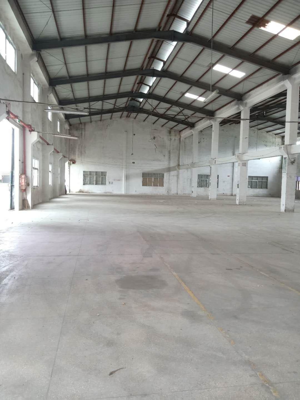 坪山比亚迪新出钢构厂房4000平层高8米空地大可做加工仓库