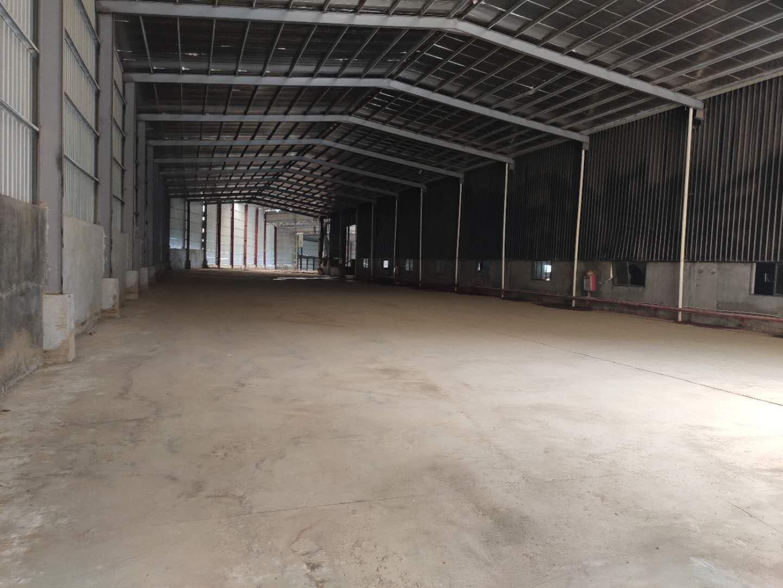 黄江镇G94高速出口附近原房东独院单一层钢构5万平米仓库招租