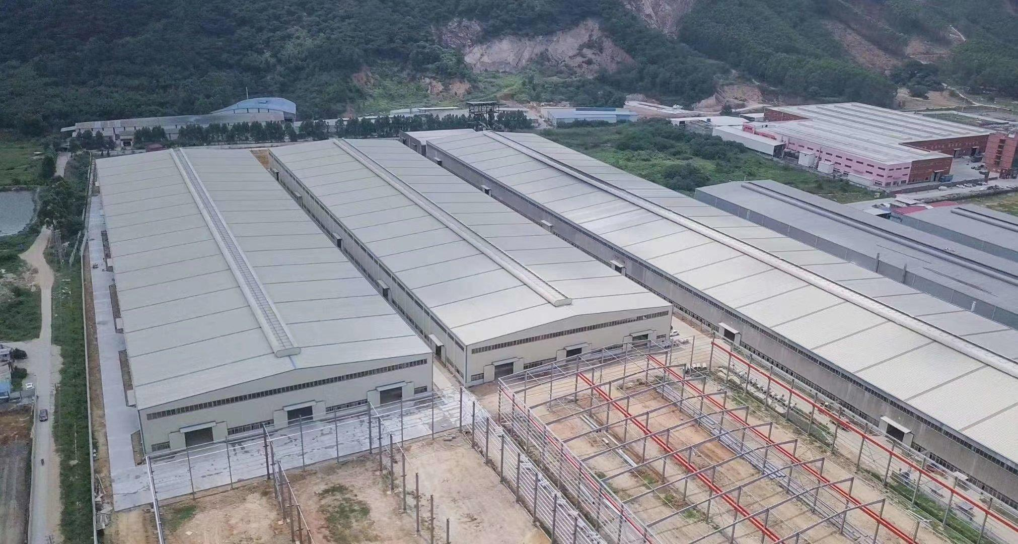 肇庆市重工业带行车吊机厂房7万70000方