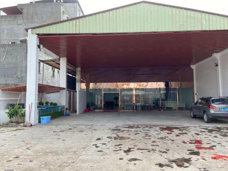 博罗县新出单一层钢构厂房两栋,共2030平,可以分租