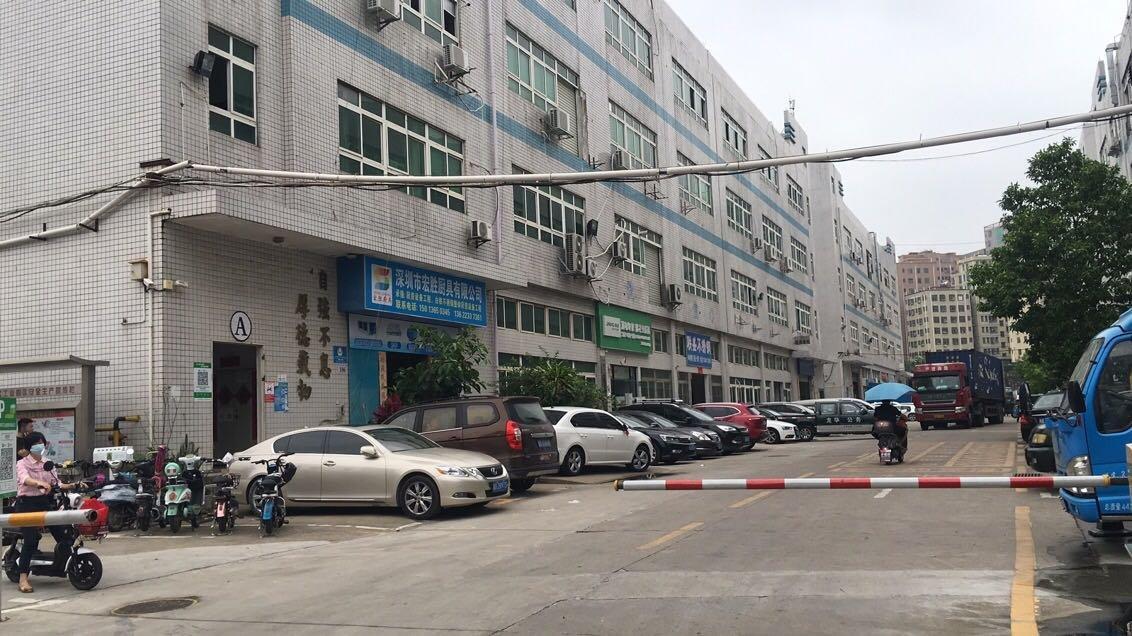 龙华汽车站附近新出大型园区精装修厂房,办公室仓库600平出租