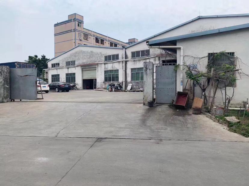 惠州市小金口火车站附近成熟工业园2870平方滴水六米钢构