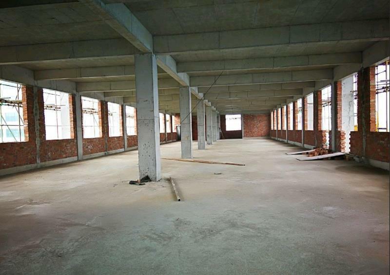 全新厂房,框架结构,单层730,整栋4层