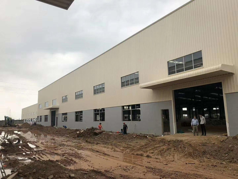 博罗高新产业园新出独门独院滴水11米全新钢构厂房出租