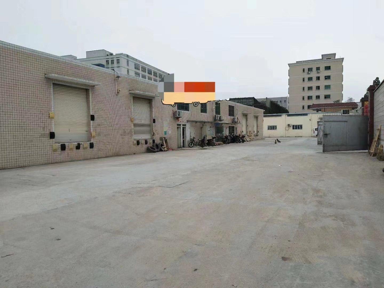 石岩塘头松柏路边楼上独院单一层钢构3550平方物流仓库出租