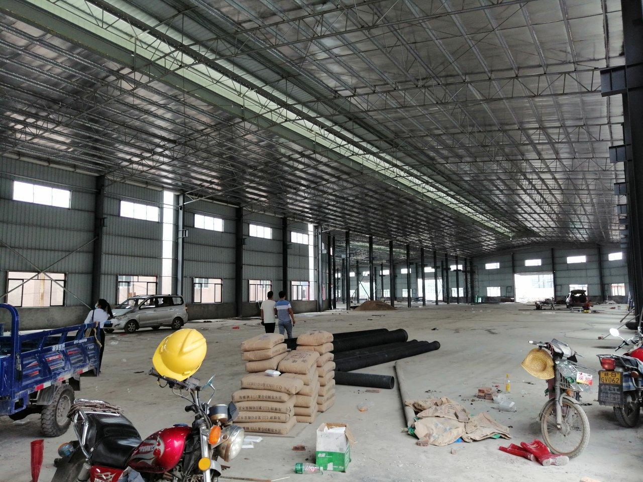 里水镇原房东全新独院单一层钢构万博app官方下载10500平出租