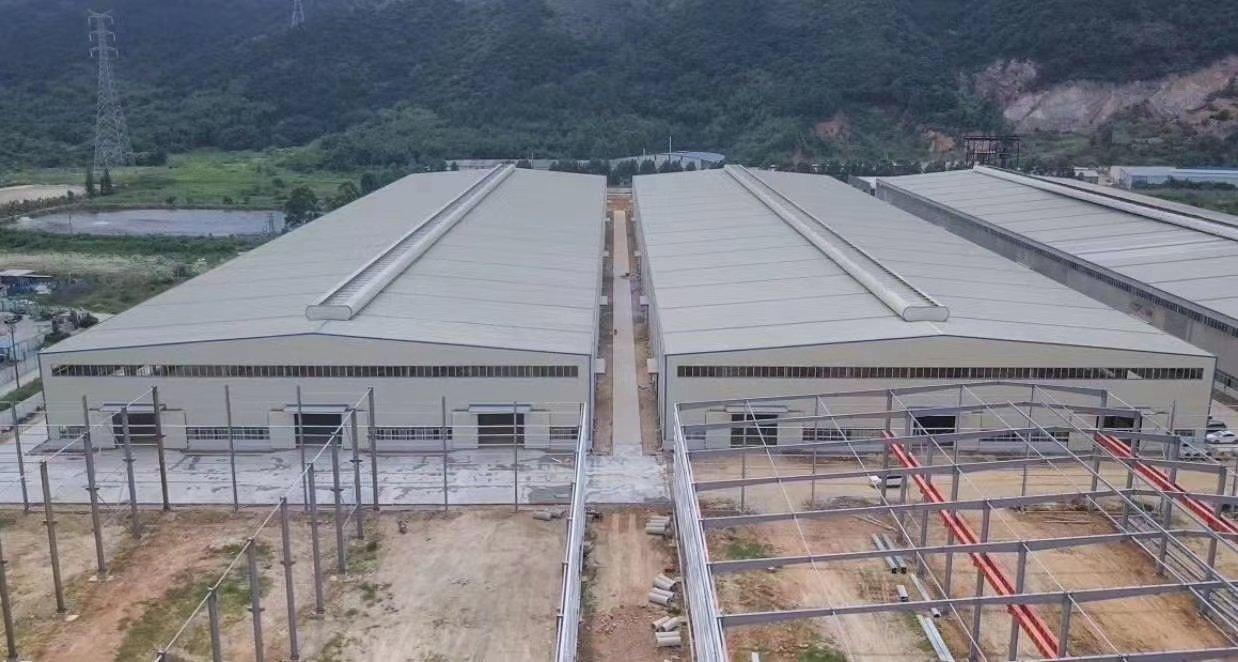原房东钢结构物流仓库厂房滴水12米,面积大小可分