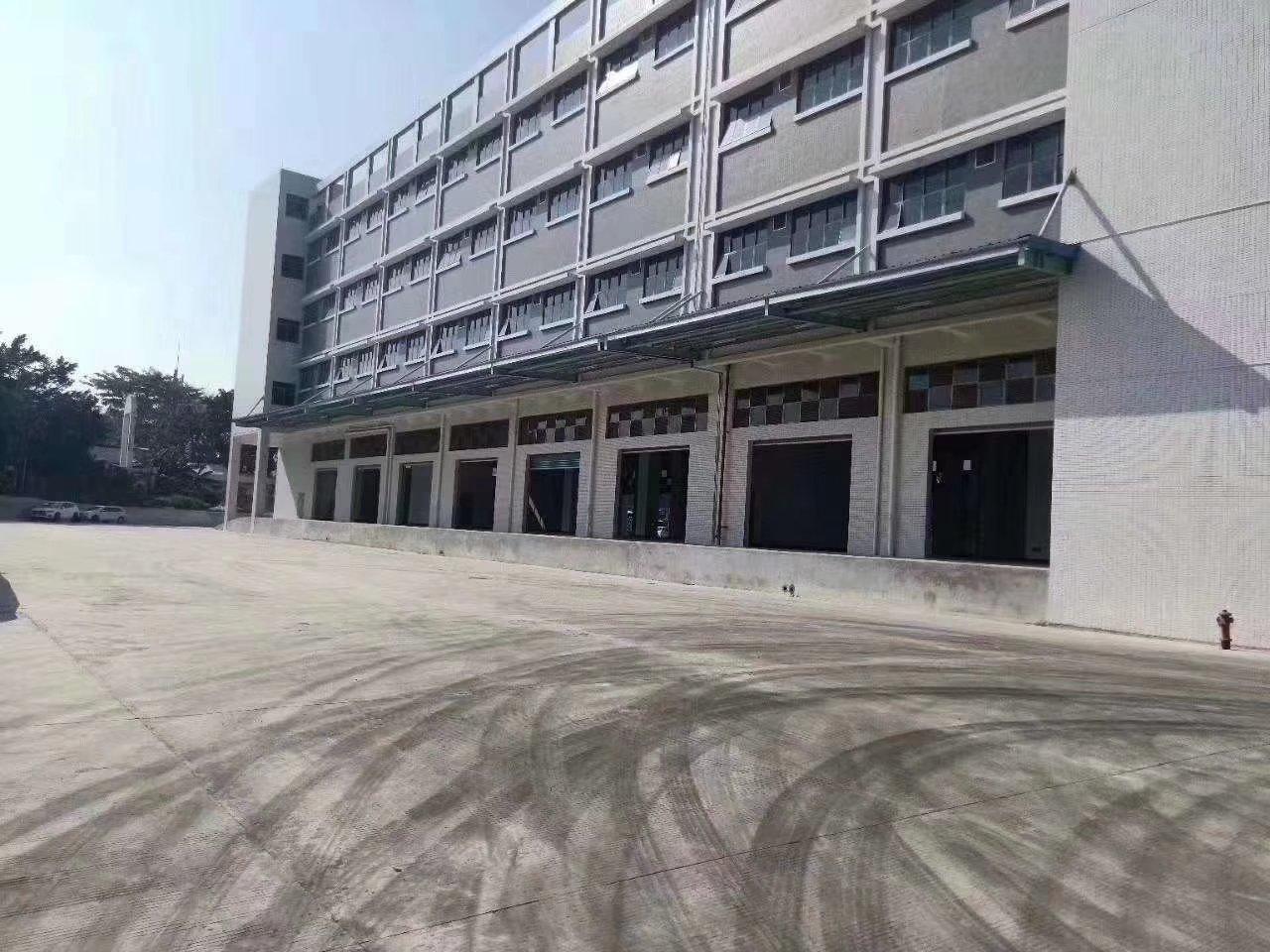 深圳大型物流园出租面积20000平空地大可分租有免租期