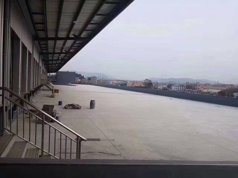 东莞东部全新高标准物流仓库面积44000平方高10米带平台
