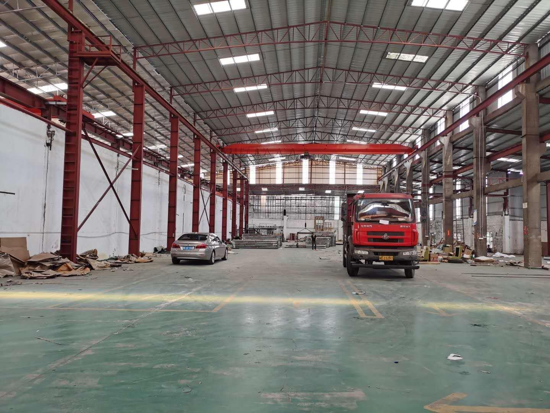 原房东独门独院单一层钢结构厂房滴水12米证件齐全大小可以分租
