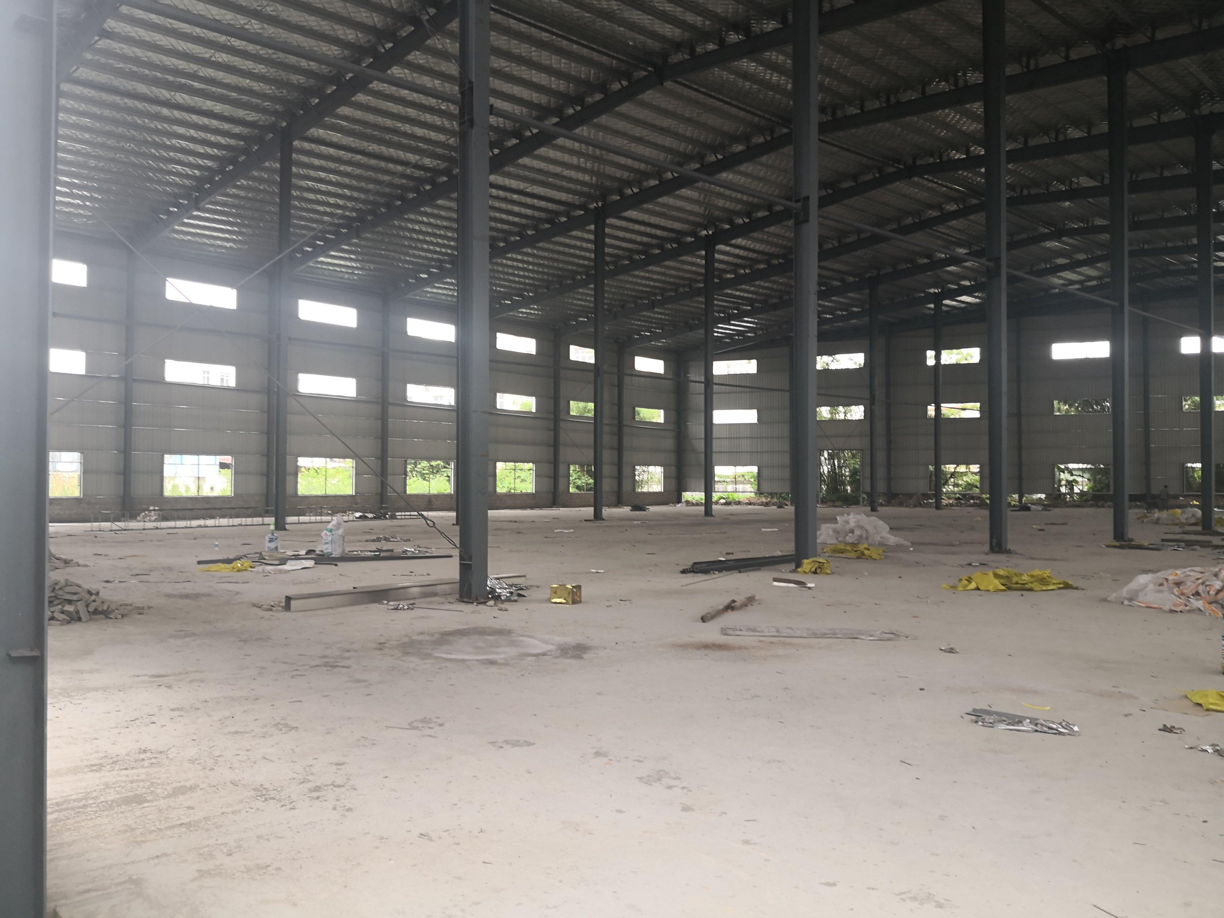 石湾镇新出滴水12米独院钢构厂房11800平