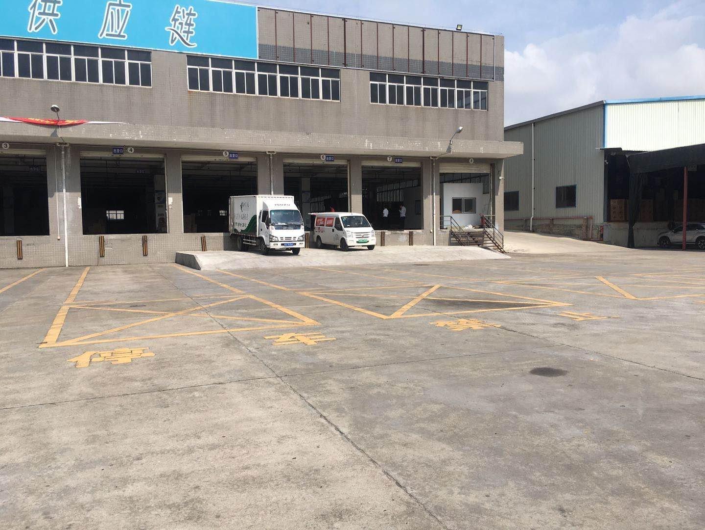清溪新出带卸货台一楼仓库40000平米 高9米,带卸货台