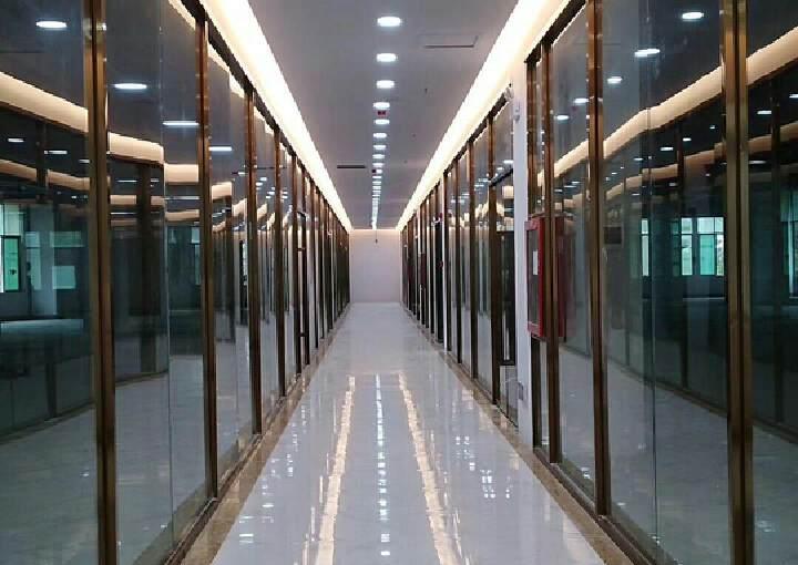 坂田地铁口全新园区5300平整租/分租都可以,100平起分图片5