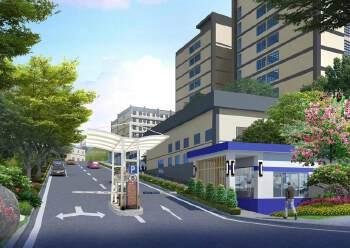 坂田地铁口全新园区5300平整租/分租都可以,100平起分图片1