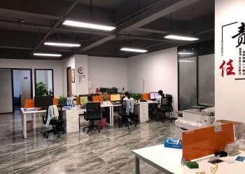 龙华汽车站附近新出600平精装修办公室招租,户型方正采光好图片3