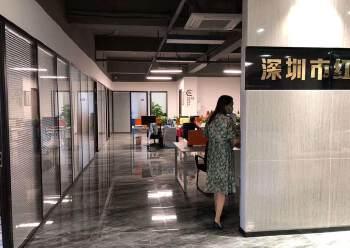 龙华汽车站附近新出600平精装修办公室招租,户型方正采光好图片4
