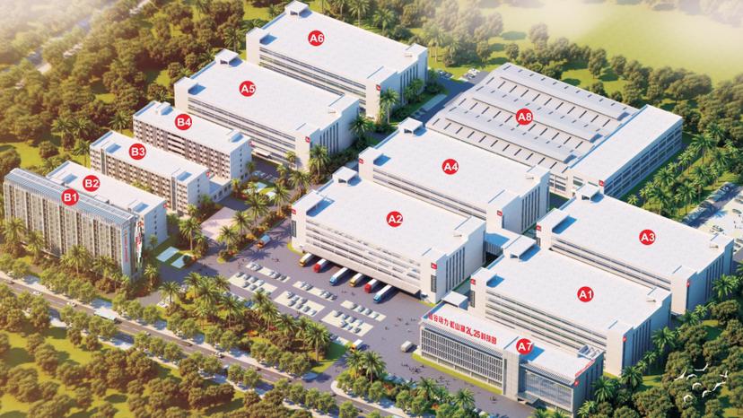 松山湖大型工业园区出租96,000平方重工业万博app官方下载。
