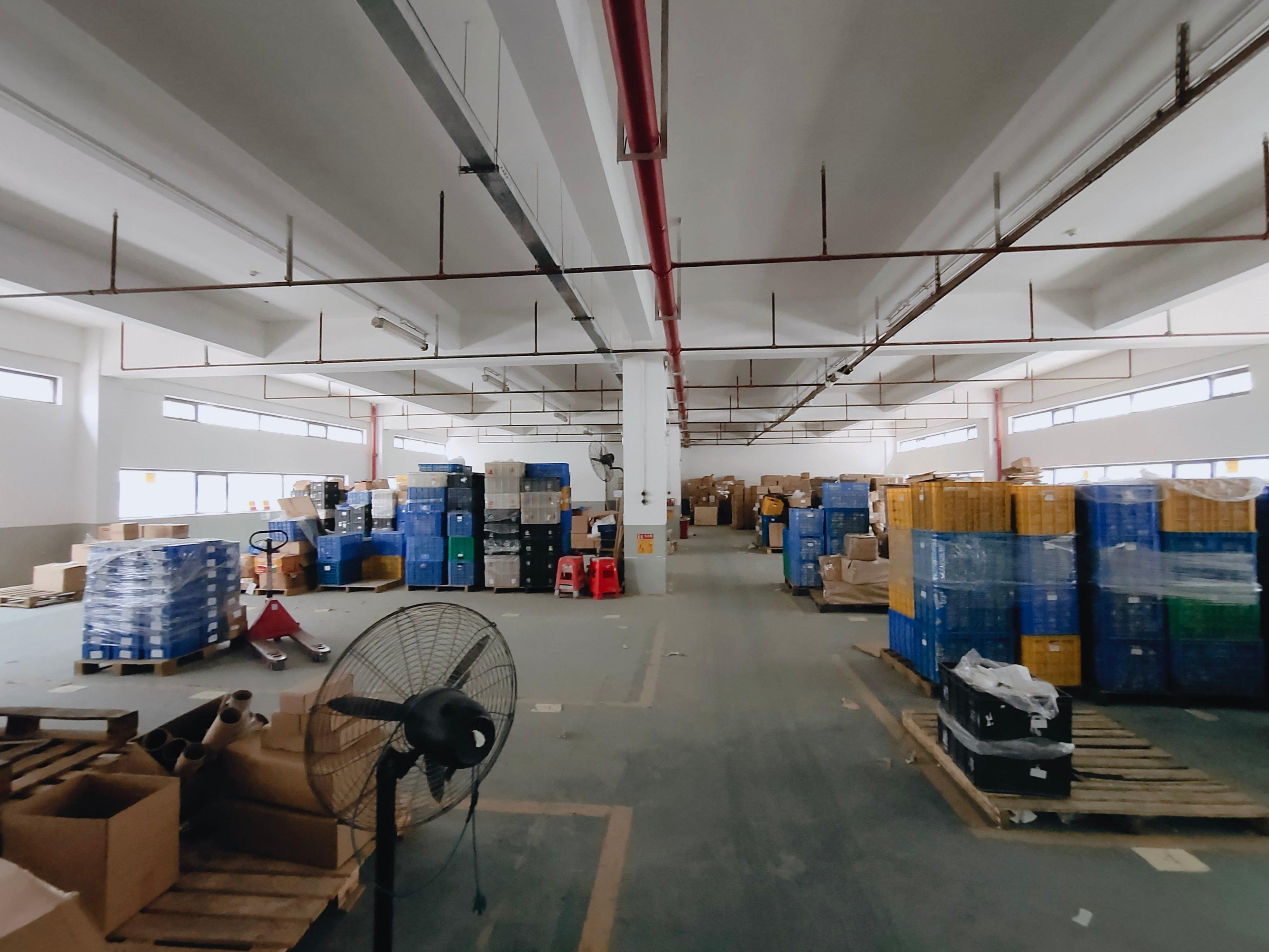 黄埔文冲新出1楼厂房可做做研发生产办环评,价格优惠。