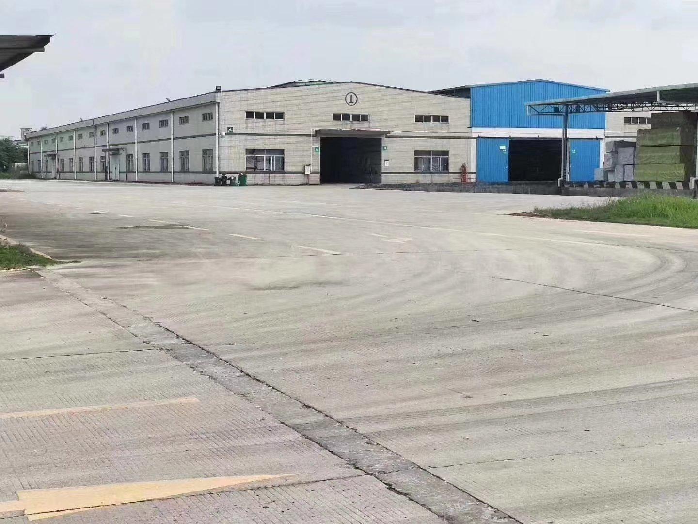 独院单一层6500平方带卸货平台空地大