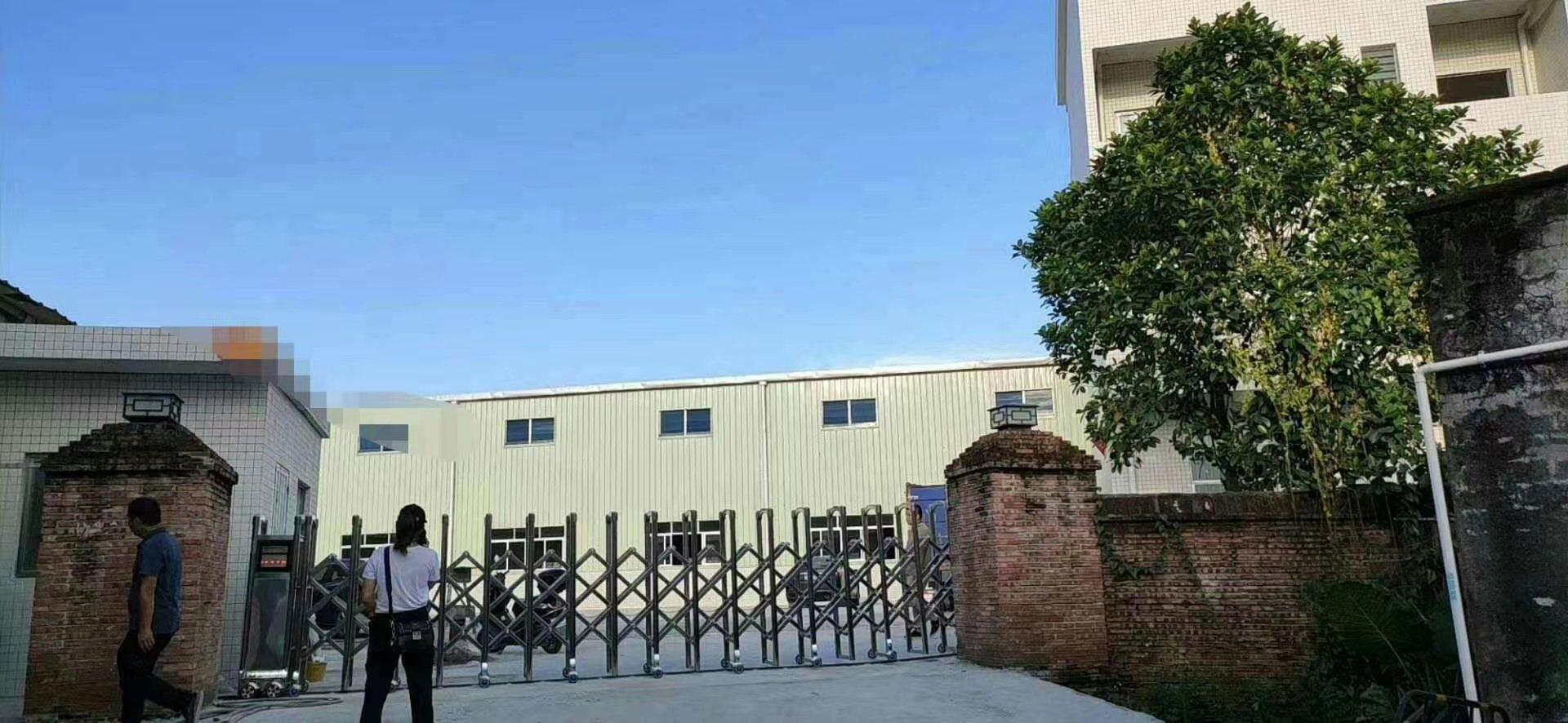 博罗新出独门独院钢构厂房3000平方大小可分租可办环评