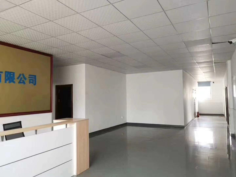 福永塘尾宝安大道旁靠近地铁口,带精装修现成办公室,无需转让费-图3