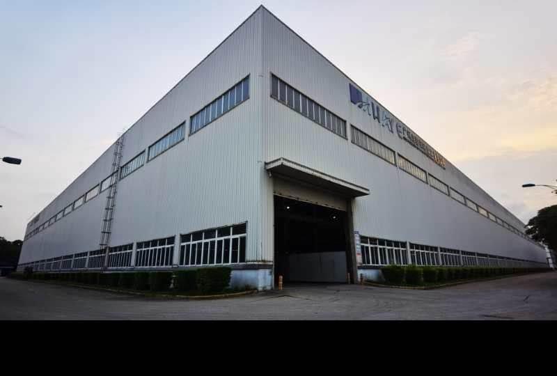 广州黄埔开创大道旁独门独院单一层厂房一楼1500平滴水18米