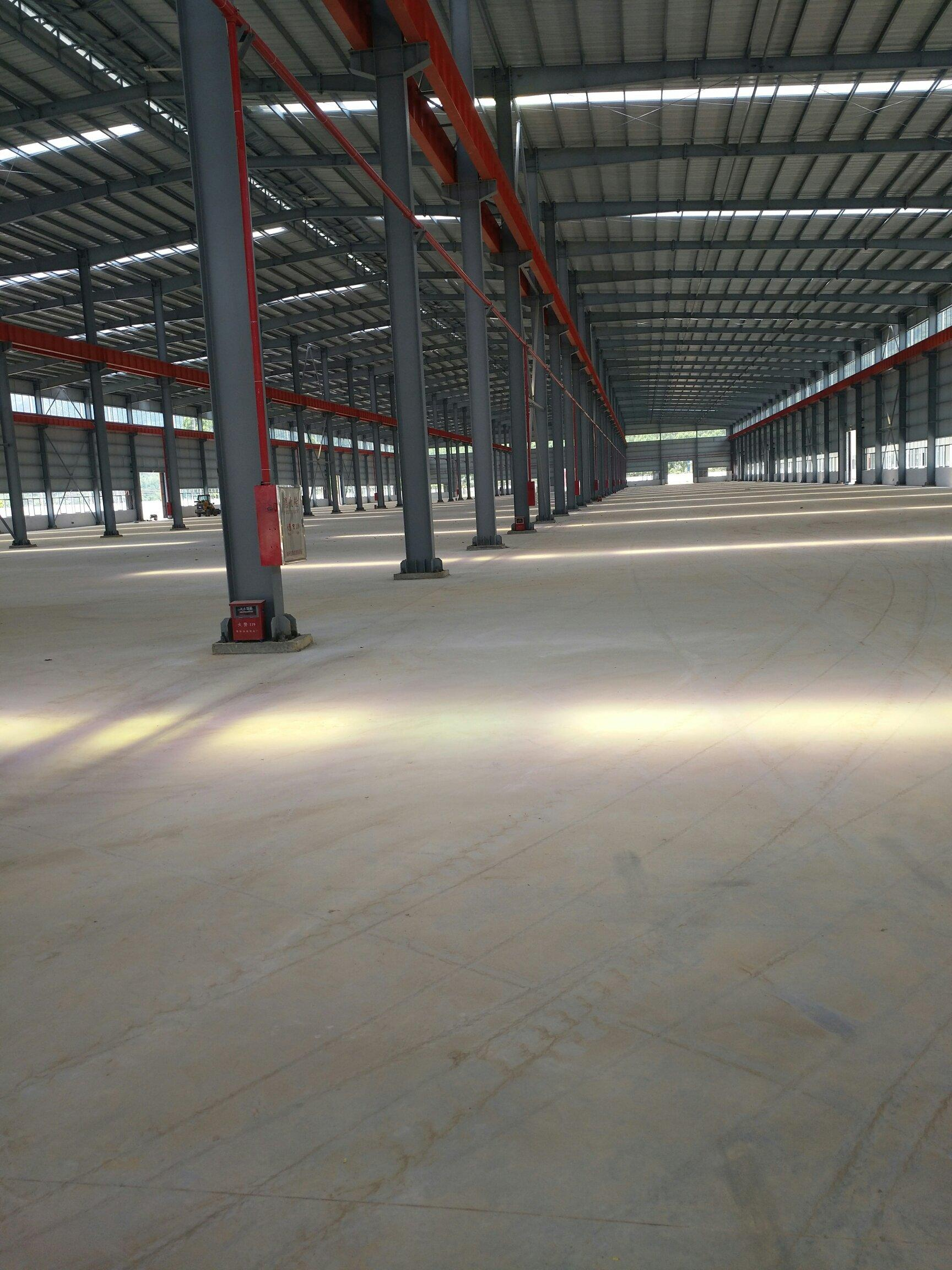 广东省肇庆市带有现成航车轨道全新钢构长度超长厂房出租-图3